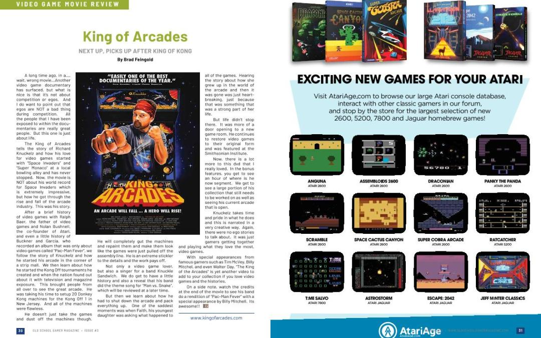 King of Arcades Next Up, Picks Up After King of Kong – By Brad Feingold