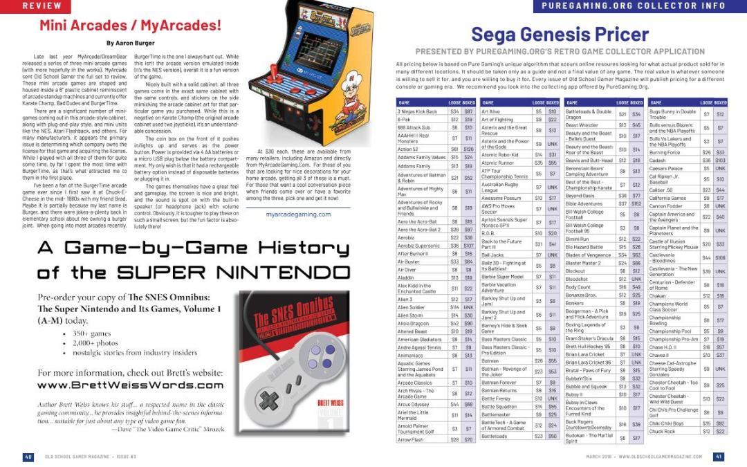 Mini Arcades / MyArcades! – By Old School Gamer Staff
