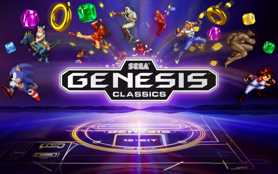 Sega Genesis Classics Announced For Ps4 Xbox One Steam Old