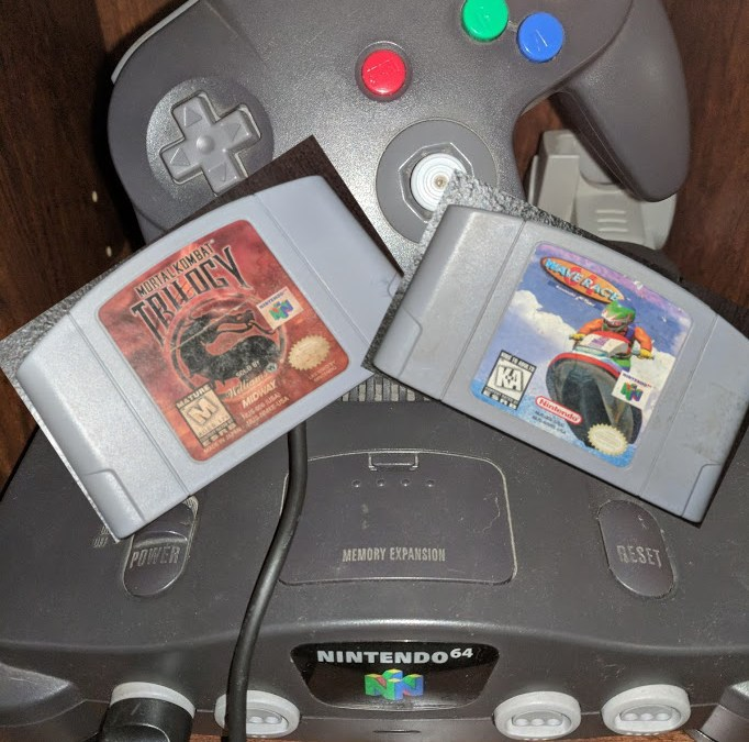 Nintendo 64 Chronicles [2] Mortal Kombat Trilogy + Wave Race 64