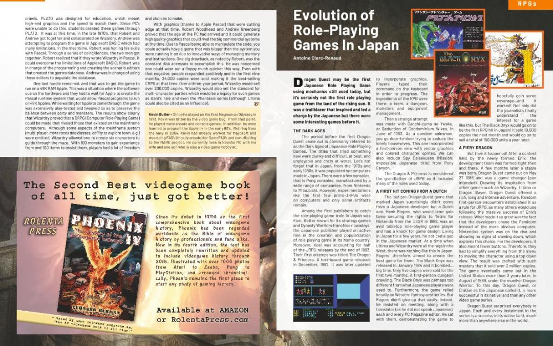 Evolution of Role-Playing Games in Japan – By Antoine Clerc-Renaud