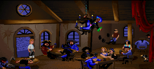The Secret of Monkey Island: Point and Click Gaming on the Amiga