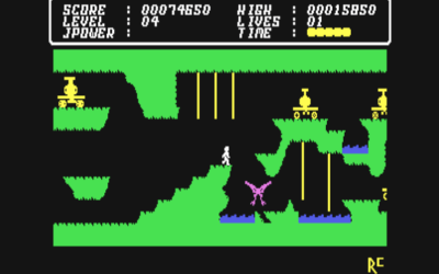 Cave Fighter for the Commodore 64