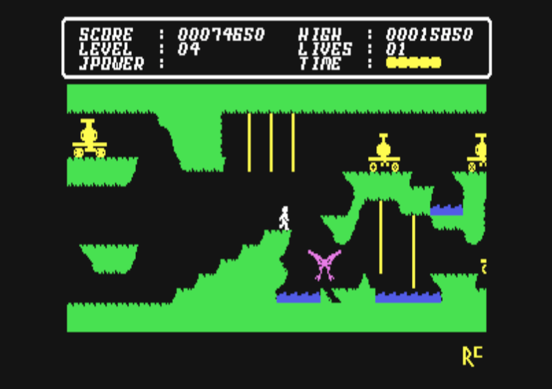 Cave Fighter for the Commodore 64 | Old School Gamer Magazine