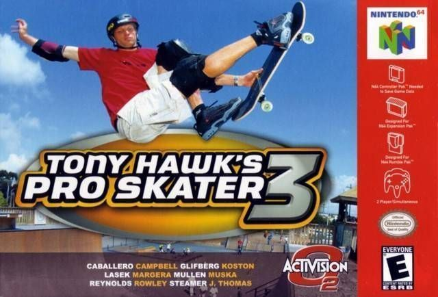 The Last Official Release: N64 – Tony Hawks Pro Skater 3