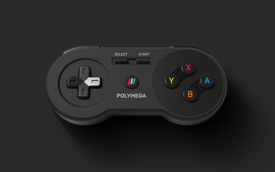 Polymega Announce Included Controllers and their Snazzy Boxes