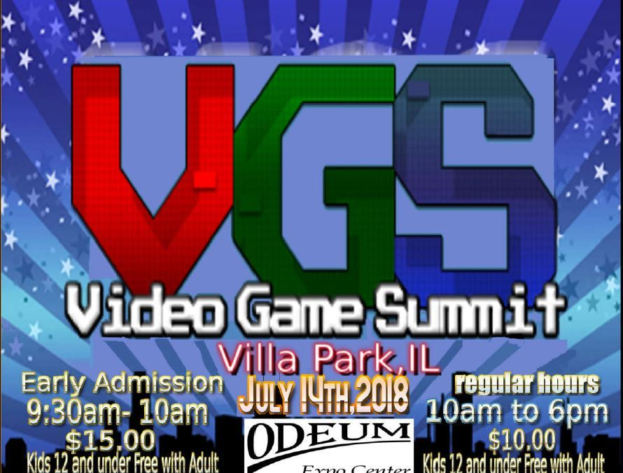 Video Game Summit 2018