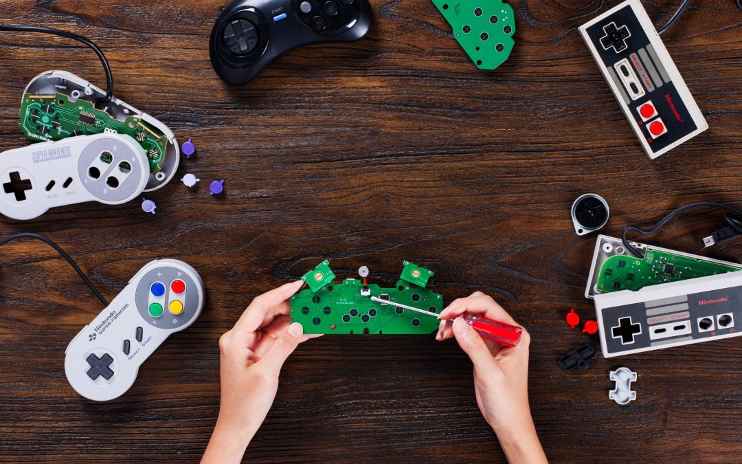 8BitDo Release DIY Kits to wireless-ify Retro Controllers