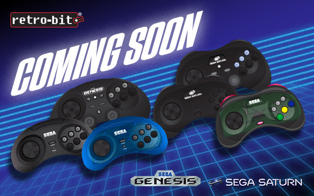 Retro-Bit® to Unveil First Wave of Officially Licensed SEGA Products at Gamescom 2018