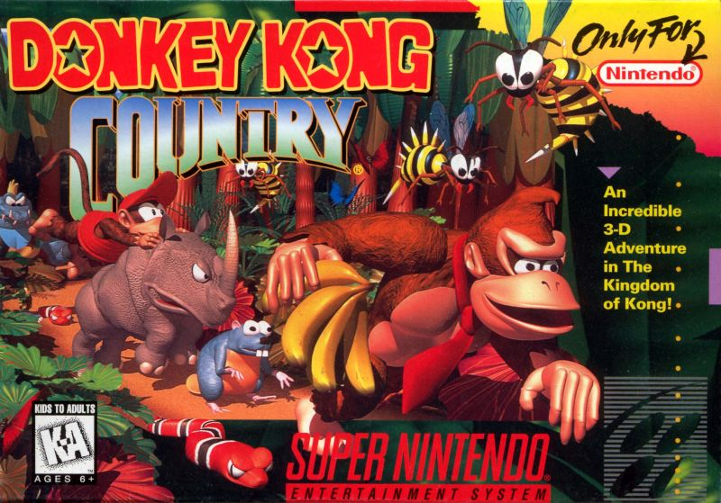Soundtrack Review: Donkey Kong Country, Part I (SNES, 1994)