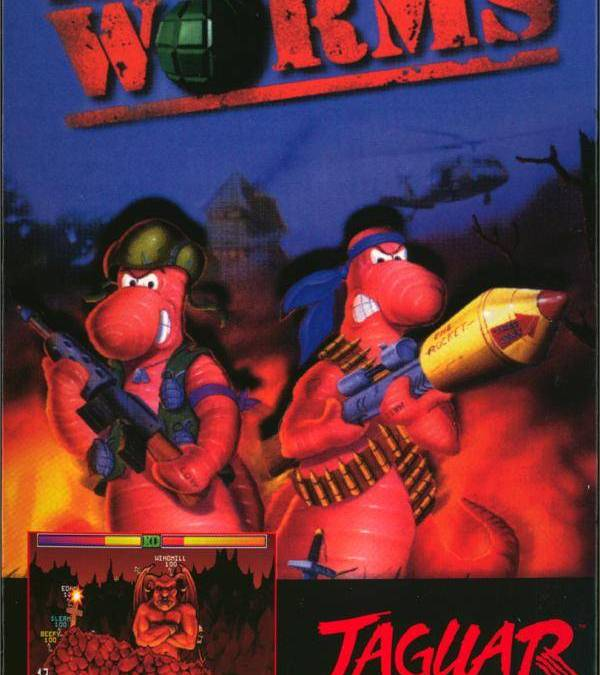 The Last Official Release: Atari Jaguar – Worms (1998)