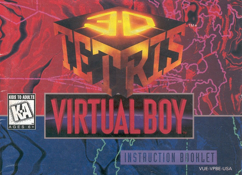 The Last Official Release: Virtual Boy – 3D Tetris (1996)