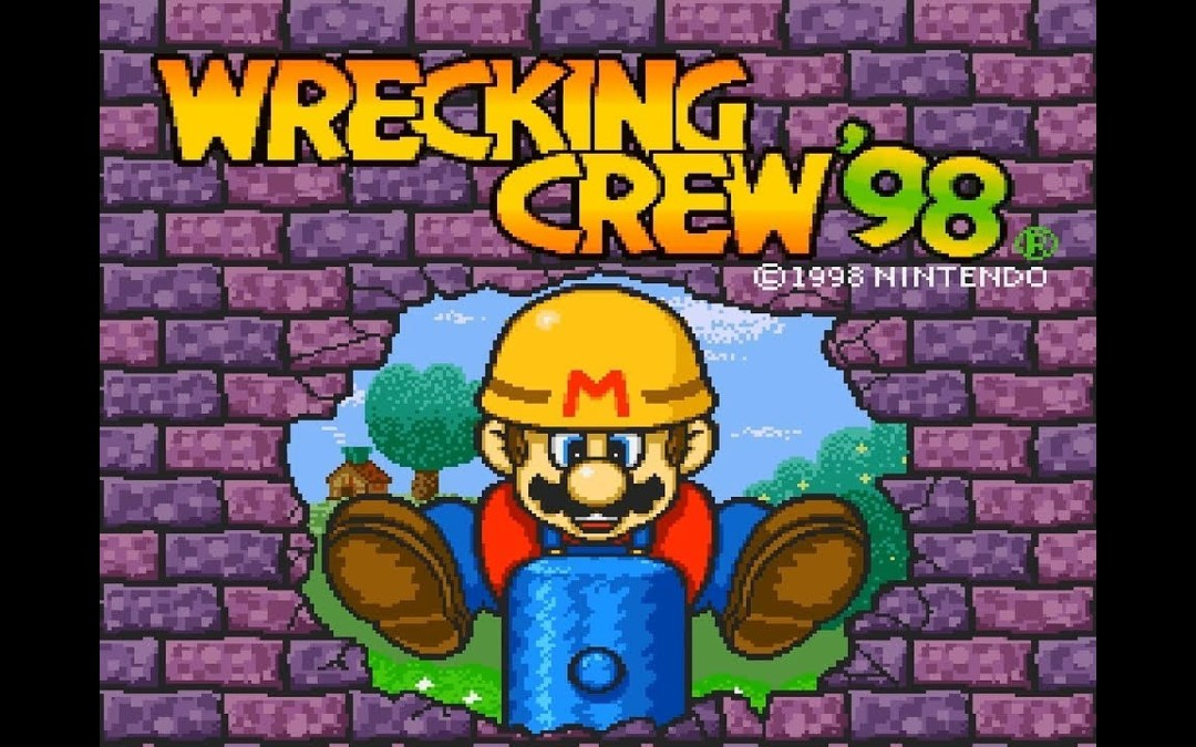 Mario Mania: Game Cameos for the Fan's Complete Collection – Wrecking Crew '98