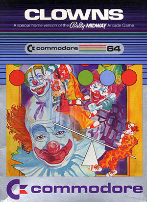 """The Nightmare Fuel of """"Clowns"""" by Bally Midway"""