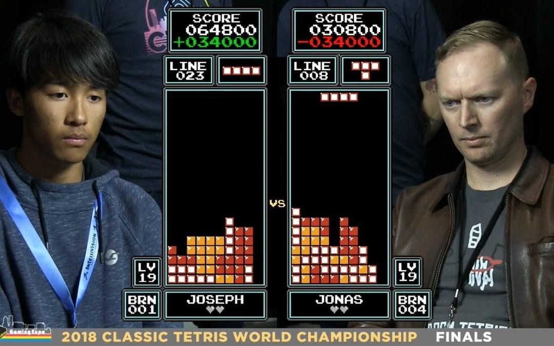 16-year-old Joseph Saelee is the New Tetris World Champion