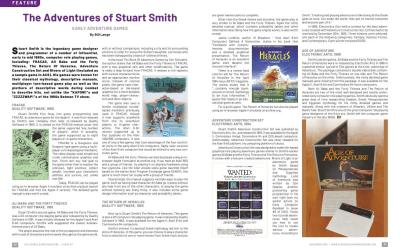 The Adventures of Stuart Smith – Early Adventure Games By Bill Lange