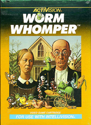 Whomping Worms On the Intellivision