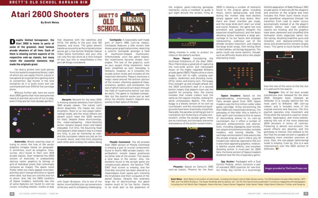 Brett's Old School Bargain Bin: Atari 2600 Shooters – By Brett Weiss