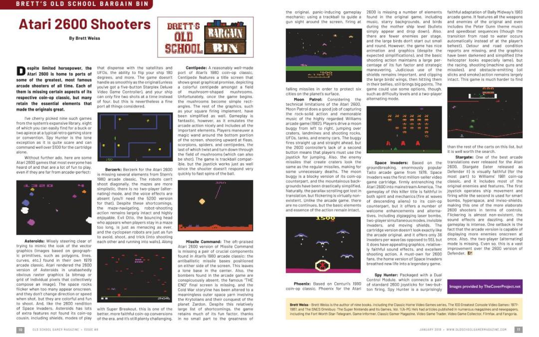 Brett's Old School Bargain Bin: Atari 2600 Shooters – By Brett Weiss