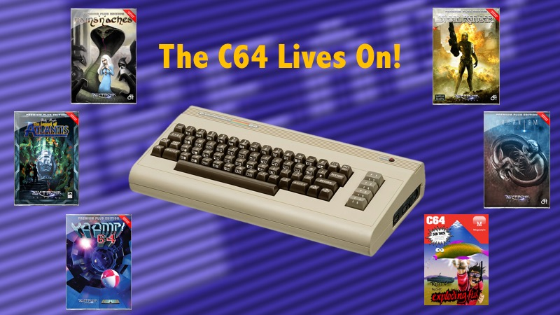 The Commodore 64 is still alive, long live the C64! | Old