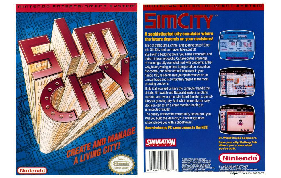Sound Bytes: NES SimCity Prototype (NES, Unreleased)