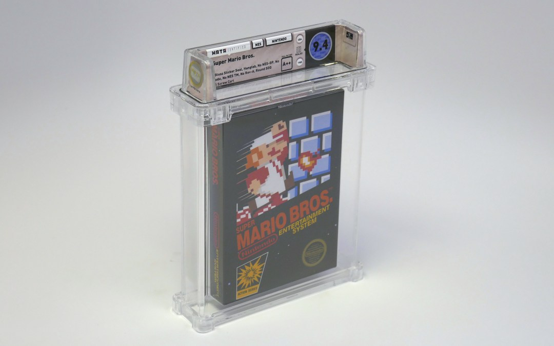 Sealed Copy of Super Mario Bros. Sells for over $US100K