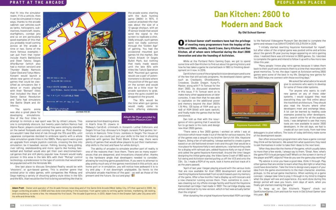 Dan Kitchen: 2600 to Modern and Back – By Old School Gamer