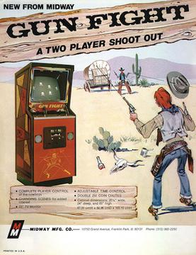 Gun Fight: A Two Player Shoot Out
