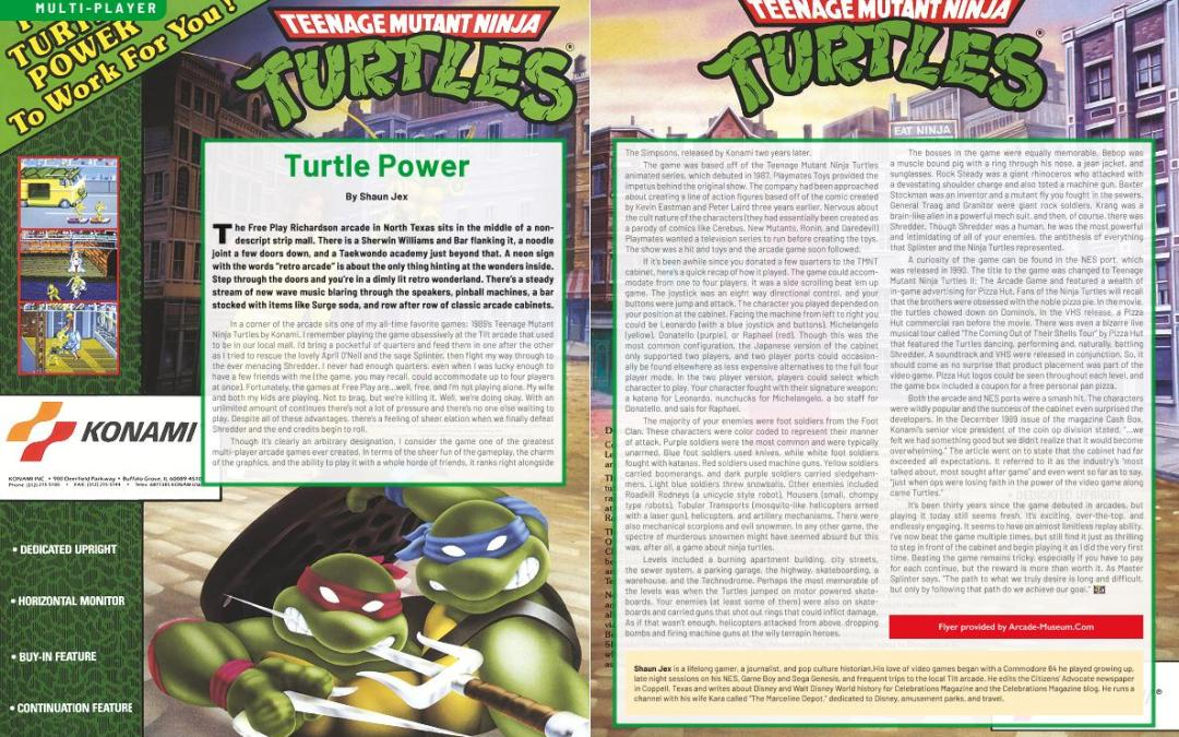 Turtle Power – By Shaun Jex