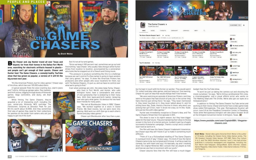 the Game Chasers – By Brett Weiss