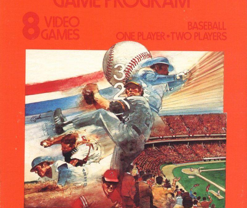 Home Run for the Atari 2600