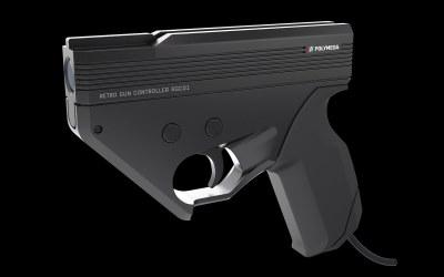 The Polymega Now has a Light-Gun for HDTV's