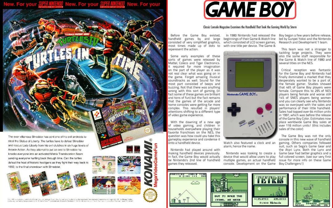 Gameboy: Classic Console Magazine Examines the Handheld That Took the Gaming World by Storm