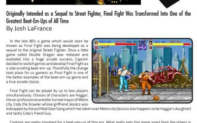 Final Fight Was One of the Greatest Beat-Em-Ups of All Time By Josh LaFrance