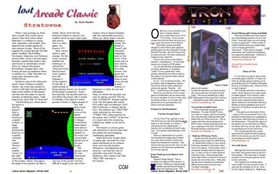 Lost Arcade Classic: Stratovox by Kyle Snyder