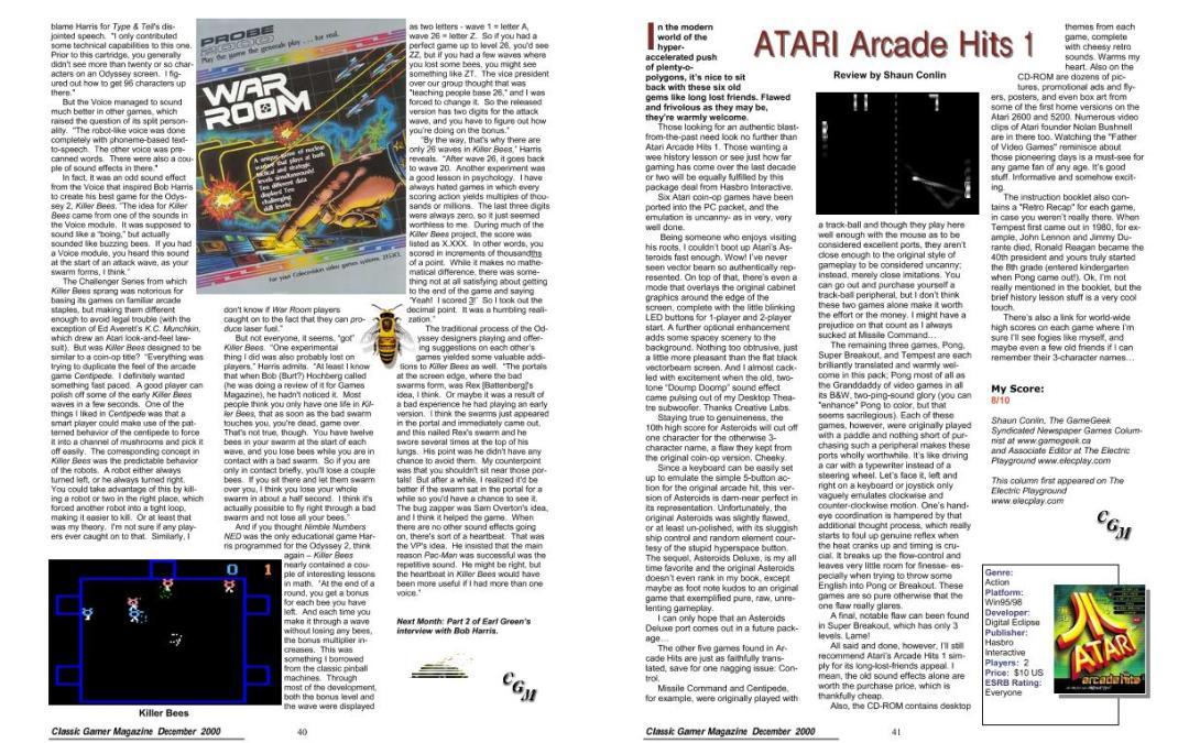 ATARI Arcade Hits 1 Review by Shaun Conlin