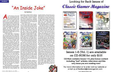 """""""An Inside Joke"""" By Todd Deci"""