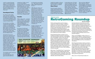 Podcast Review: RetroGaming Roundup