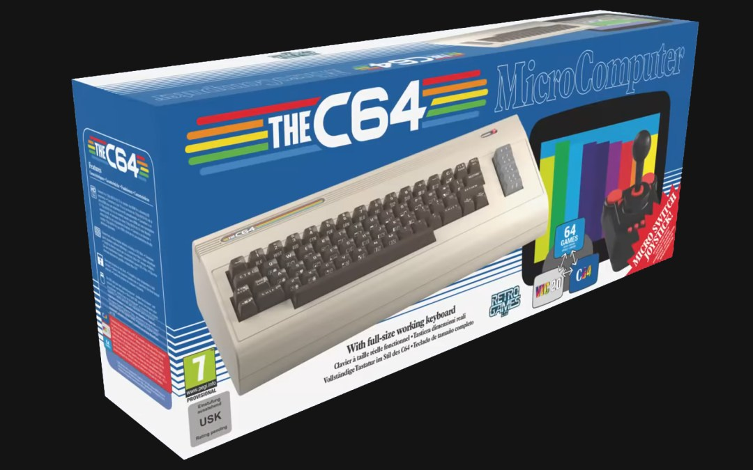 TheC64 is being Rebooted Full Size, Includes Functioning Keyboard