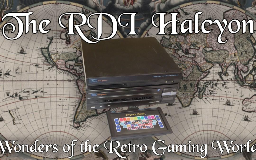 RDI Halcyon: Wonders of the Retro Gaming World | Old School Gamer