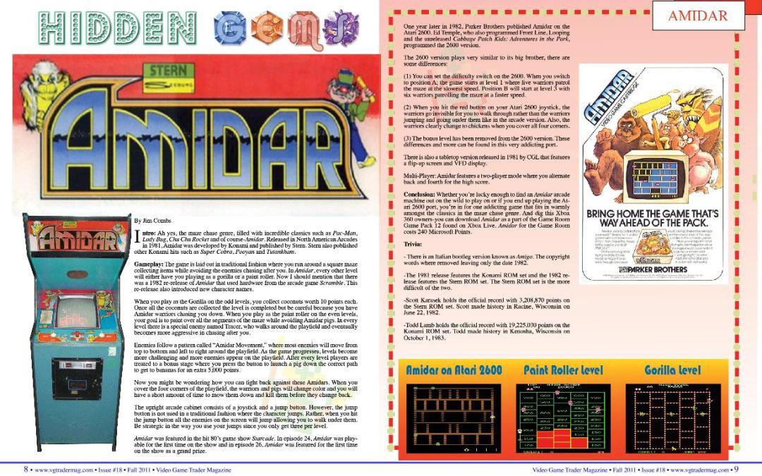 Hidden Gems: Amidar
