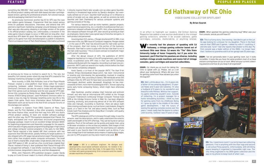 Video Game Collector Spotlight – Ed Hathaway of NE Ohio – By Brian Szarek