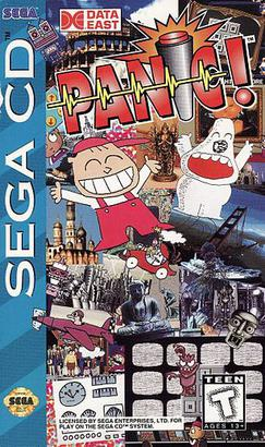 The Cabinet of Curiosities: Panic! On the Sega CD