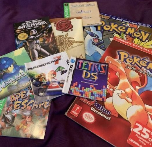 Missing Manuals (and Strategy Guides)