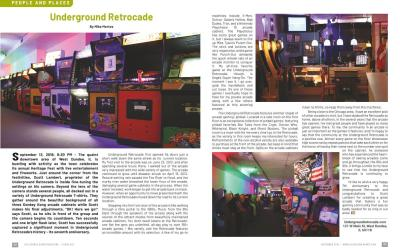 Underground Retrocade – By Mike Mertes