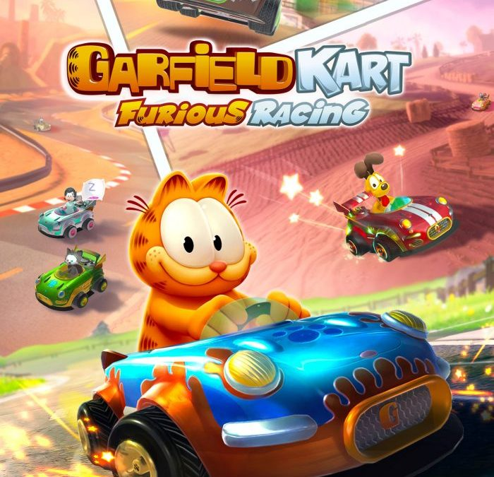 3.. 2.. 1.. GO! Garfield Kart Furious Racing launches today!