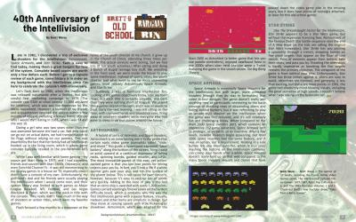 Brett's Old School Bargain Bin: 40th Anniversary of the Intellivision – By Brett Weiss