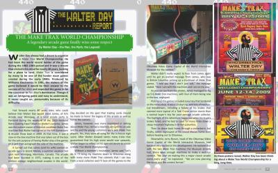 The Walter Day Report:  THE MAKE TRAX WORLD CHAMPIONSHIP: A Legendary Arcade Game Finally Wins Some Respect: By Walter Day – the Man, the Myth, the Legend!