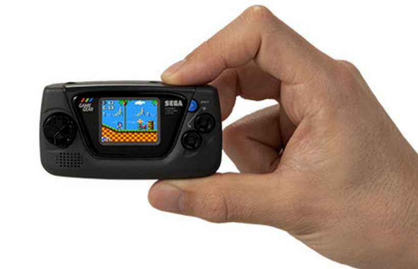 Meet The Latest Retro Mini: The Sega Game Gear Micro