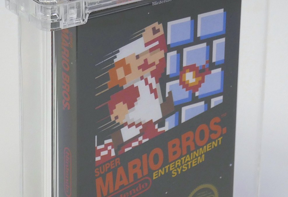 $114,000 Bid for Super Mario Bros. Video Game Sets World Record